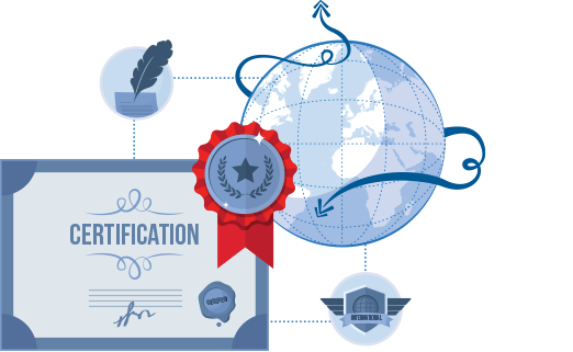 Worldwide Recognised Certifications