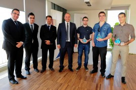 cisco netriders – winners with minister
