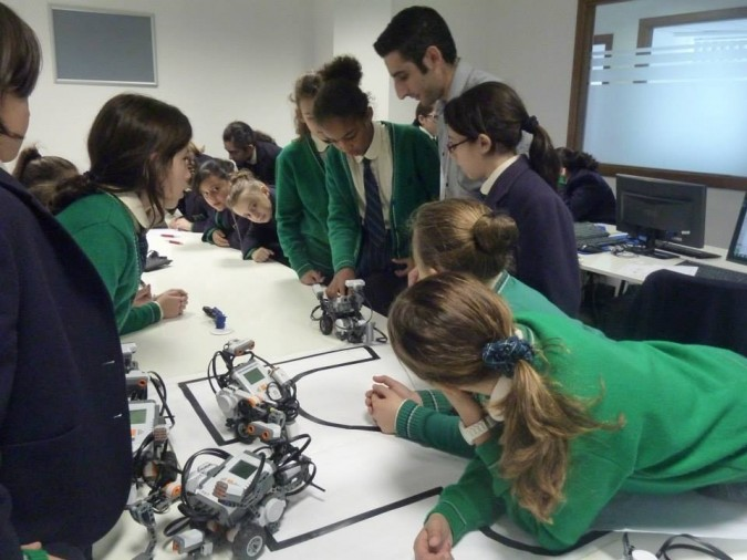 Robotics Class at ICE Malta