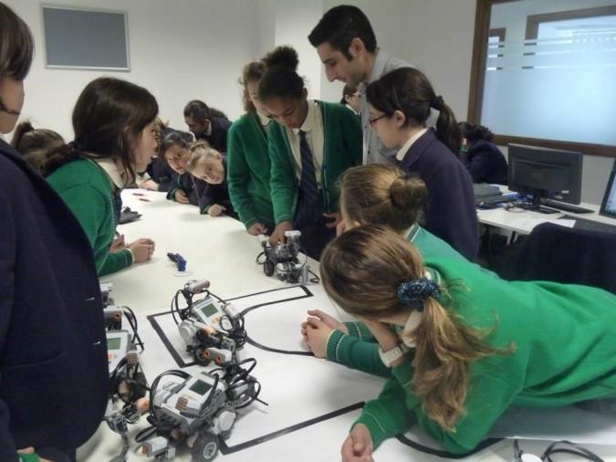 Robotics Class at ICE Malta