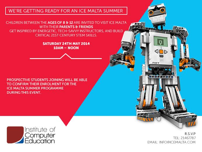 Robotics Invitation - Summer 2014