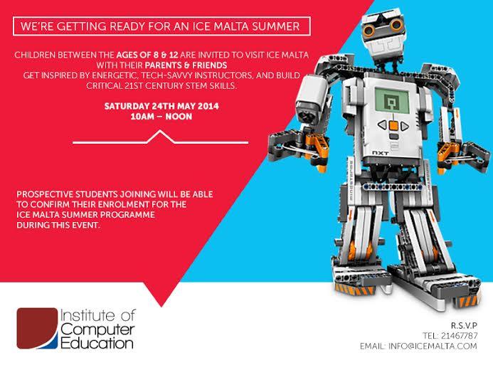 Robotics Invitation - Summer 2014