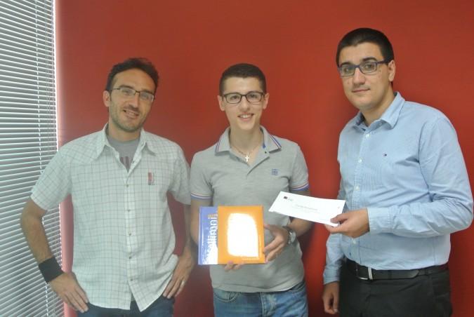 ICE Malta student Justin borg wins Kellimni.com's design competition