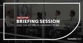 ICE Malta briefing session