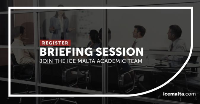 ICE Malta briefing session