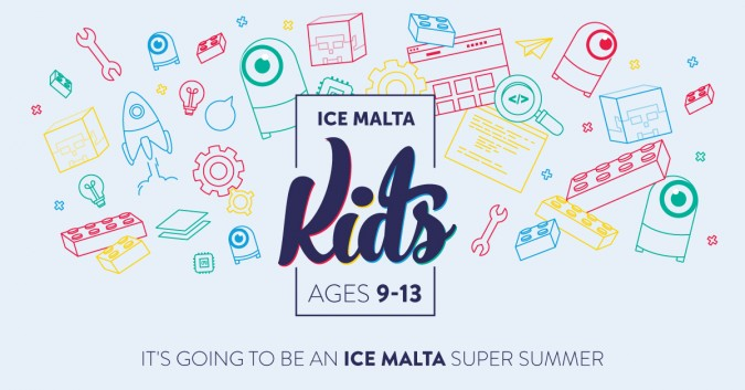 ICE Malta Kids – official logo